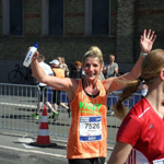 Finishing the Copenhagen Marathon